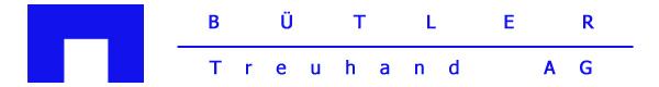 Bütler Treuhand AG Logo